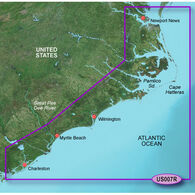 Garmin BlueChart g2 Vision - Norfolk to Charleston