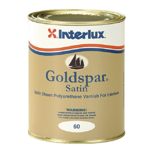 Goldspar Satin Interior Varnish, Quart