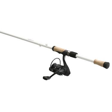 13 Fishing Code White Spinning Combo