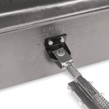 Otter Universal Rear Sled Hitch Receiver with Pin