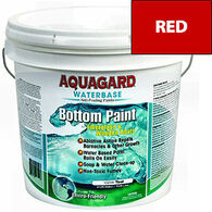 Aquaguard Waterbase Anti-Fouling Bottom Paint, 2 Gallons, Red