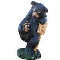 """Design House Wipe Your Paws Bear, 15"""" Tall"""