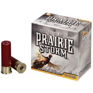 "Federal Premium Prairie Storm FS Steel Ammo, 12 Gauge, 3"", 1-1/8 oz., #4"