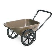 Green Thumb 6 cu. ft. Twin Wheel Garden Cart