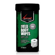 Lethal Field Body Wipes, 25 Wipes