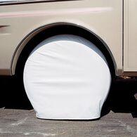 """Ultra Tyre Gard, Set of 2, Polar White, 30"""" to 32"""""""