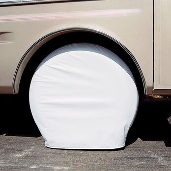 """Ultra Tyre Gard, Set of 2, Polar White, 33"""" to 35"""""""