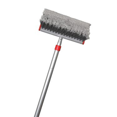 Telescopic Pole with All-About Wash Brush