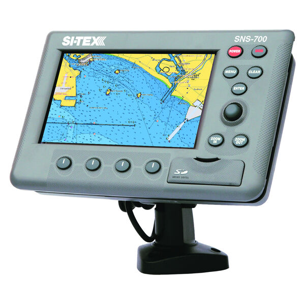 Si-Tex SNS-700IF Chartplotter/Fishfinder Combo With Internal GPS Antenna