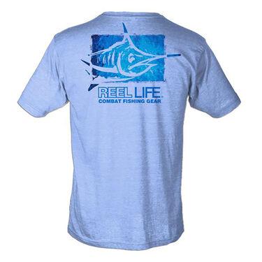 Reel Life Men's Combat Marlin Short-Sleeve Tee