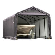 ShelterTUBE Storage Shelter 12 x 20 x 11 Gray Cover