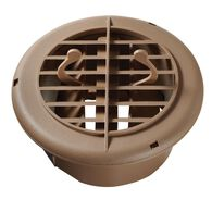 "Replacement Floor Register with Damper, 4"" - Beige"