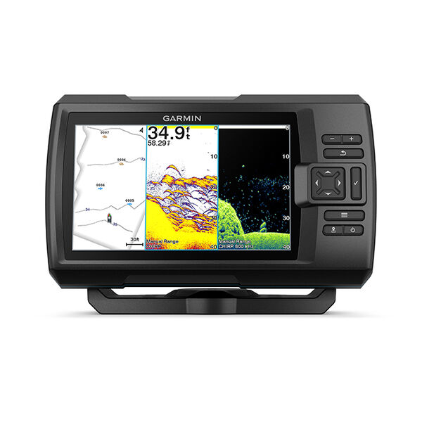 Garmin STRIKER; Vivid 7cv Fishfinder w/GT20-TM