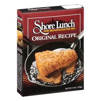 Shore Lunch Original Recipe Fish Breading/Batter Mix, 9-Oz.