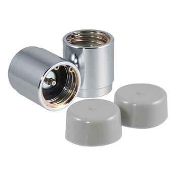 """CURT Bearing Protectors, Set of 2 with dust covers, 1.78"""" hub dia."""