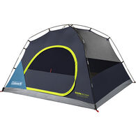 Coleman Dark Room Skydome 4-Person Camping Tent, Blue