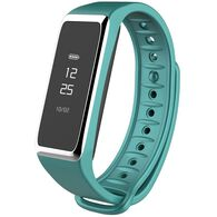 Activity Tracker Watch with Touchscreen and Bluetooth, Turquoise/Silver