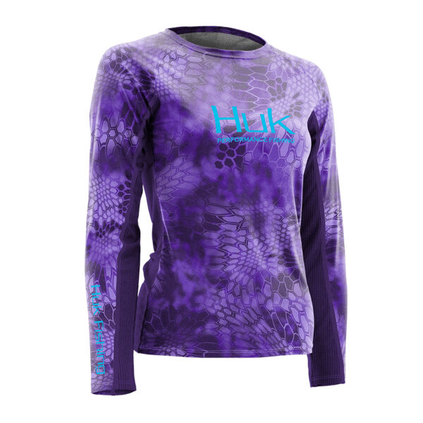 Huk Women's Kryptek Icon Long-Sleeve Shirt