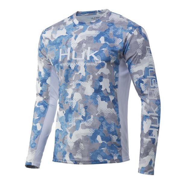 Huk Men's ICON X Refraction Long-Sleeve Shirt