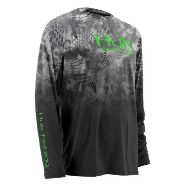 Huk Men's Kryptek Fade Icon Long-Sleeve Tee