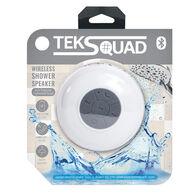 TekSquad Bluetooth Wireless Shower Speaker, White