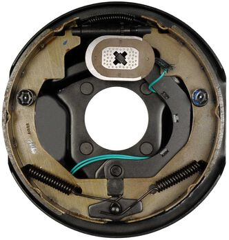 """Replacement Electric Brake Assembly, 10"""" - Left"""