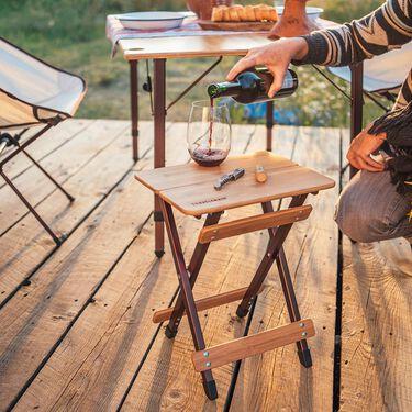 Side Kanpai Bamboo Table