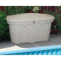 """Stow 'N Go Dock & Patio Storage Box, Sandstone (43""""L x 21""""W x 26""""H)"""