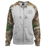 Realtree Women's Crush Full-Zip Fleece Hoodie