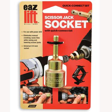 Quick Connect Scissor Jack Socket