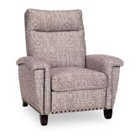 Kent Big & Tall Manual Recliner, Matazza Earth