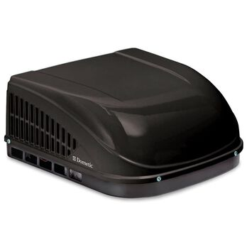 Dometic Brisk II Air Conditioner with Heat Pump, 15K BTU, Black