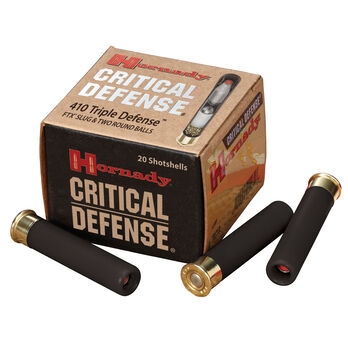 "Hornady Critical Defense Shotgun Ammunition, .410 Bore, 2-1/2"", FTX"