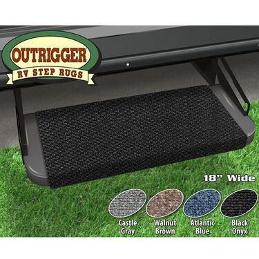 Outrigger Radius XT Step Rug, Walnut, 22""