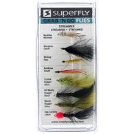 Superfly Grab 'N Go Streamer Assorted Flies, 8-Pack