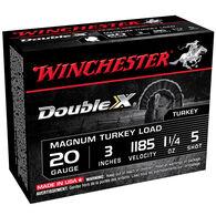 "Winchester Double X Turkey Loads, 20-ga., 3"", 1-1/4 oz., #5"