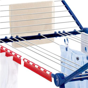 Medium Deluxe Winged Clothes Drying Rack with Adjustable Lines