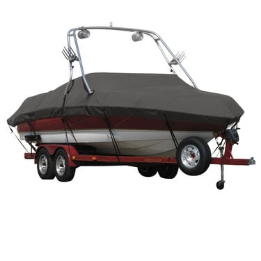 Exact Fit Sharkskin Boat Cover For Bayliner Capri 205 Br Xt W/Xtreme Tower