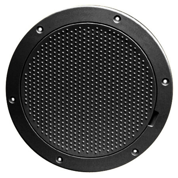 """Pry-Out 8"""" Black Deck Plate With Non-Skid Center"""