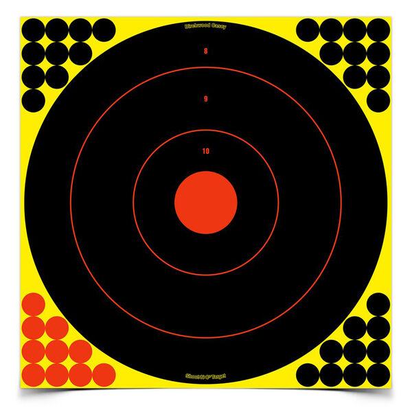 """Birchwood Casey Shoot-N-C 17.25"""" Bull's-Eye Targets, 5-Pk."""
