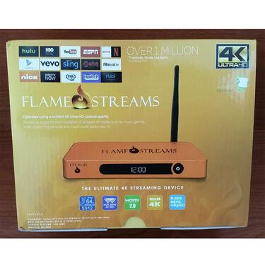 Flame Streams Android TV Mini PC Media Player