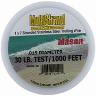 Mason Multi-Strand Stainless Steel Trolling Wire 30-lb.