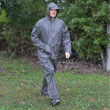 Adult All-Weather 2-Piece Rain Suit, Large