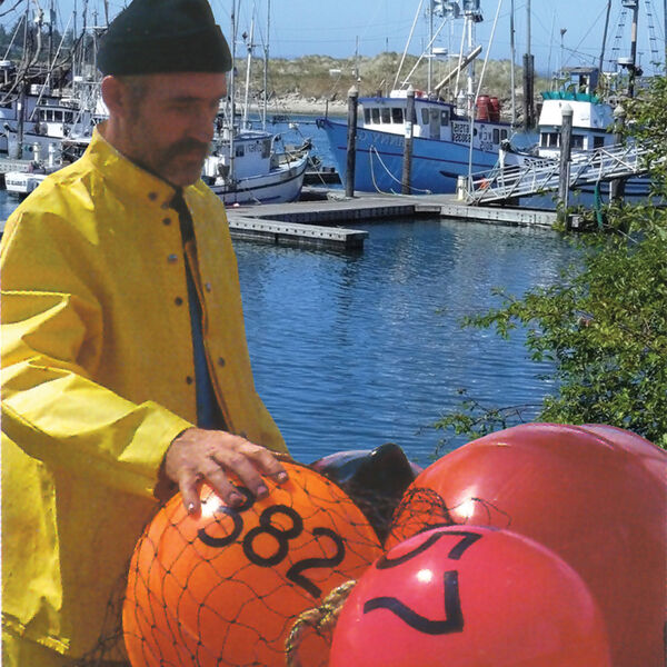 """Commercial Fishing Net Buoy, Neon Red (15"""" x 21"""")"""
