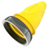 Furrion 30A Male Plug Cover with Ring (Yellow)