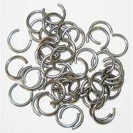"Clinching Rings Large 50 Rings fit 3/8"" to 1/2"" cord"
