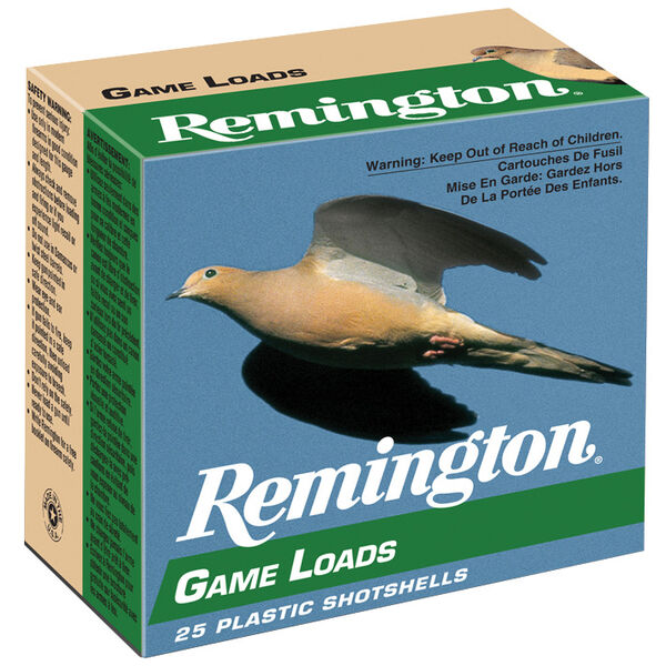 "Remington Game Loads, 20-ga., 2-3/4"", 7/8-oz., #7.5"