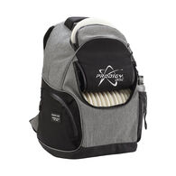Disc Backpack, Heather Gray/Black