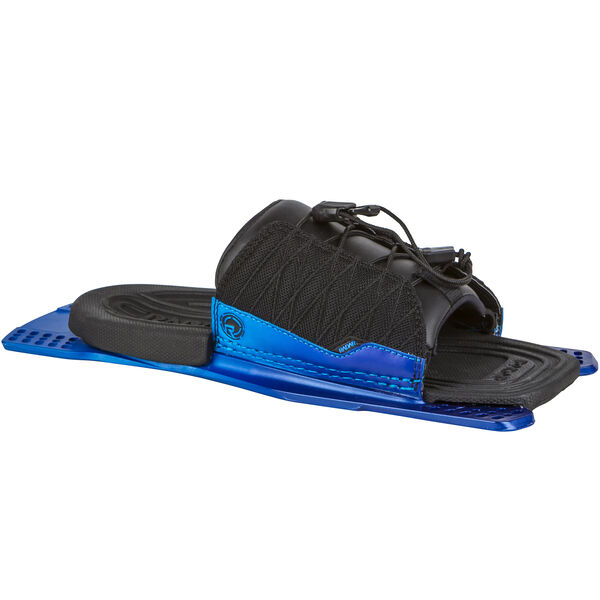 Radar Adjustable Rear Toe Plate With Feather Frame, Blue