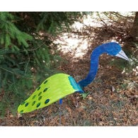 Peacock Lawn Ornament, Set of Two
